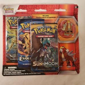 Pokemon Entei Pin Set